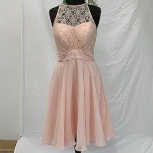 Bill Levkoff lace bodice sample Formal Dress